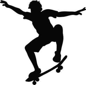 Skateboarder Modern Thrill