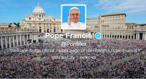 vatican twitter
