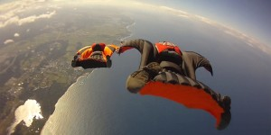 wingsuit jumping