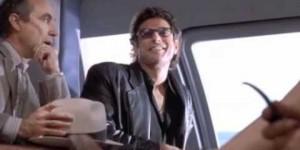 jeff goldblum's laugh from Jurassic park