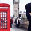 Businessman on the London street