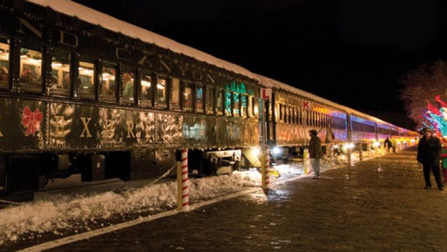 The top 3 holiday themed train rides modern thrill for What is the best polar express train ride