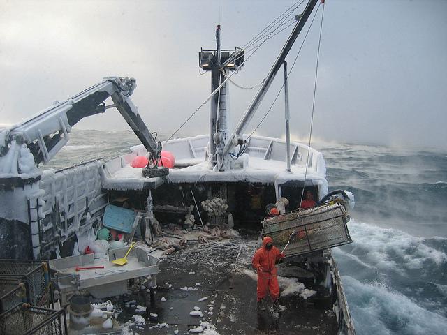 crab fishing bering sea