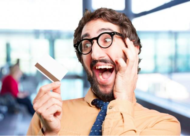 Credit card shock
