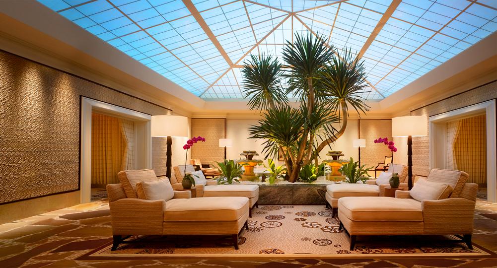 the Wynn Vegas spa