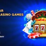 5 popular online casino games